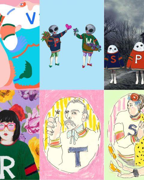 6 Artisti in cerca di Gucci