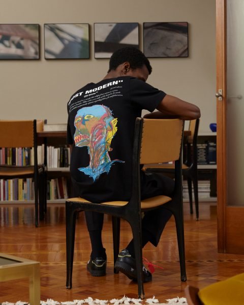 Virgil Abloh rende omaggio a Basquiat